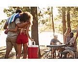 Picknick, Ausflug, Freunde