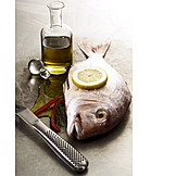 Ingredient, Prepared Fish, Gilt Head Bream