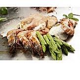 Preparation, Prepared Fish, Crustacean, Roast Dinner