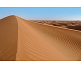 Desert, Dune, Dune ridge