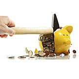 Piggy Bank, Savings, Smash