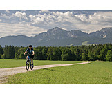 Mountain Bike, Bicycle Tour, Active Senior