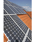 Solar Cells, Photovoltaic System, Solar Roof