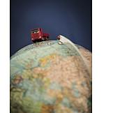 Logistics, Worldwide, Truck, Freight Transportation