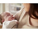 Säugling, Schlafen, Geborgenheit, Friedlich