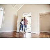 Eigenheim, Zusammenziehen, Neues Zuhause, Wohnungsbesichtigung