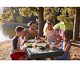 Picknick, Camping, Familienurlaub