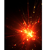 Lamps, Firework Display, Explosion, Flames