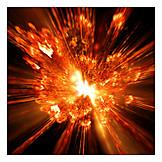 Heat, Radiation, Explosion, Flames