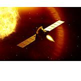 Science, Sun, Satellite, Aeronautics