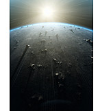 Science, Sunbeam, Future, Astronomy, Planet