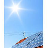 Solarenergie, Erneuerbare Energie, Photovoltaikanlage