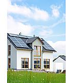 Solarenergie, Erneuerbare Energie, Grüner Wohnen