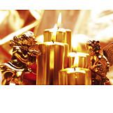 Weihnachtszeit, Engel, Kerzenlicht