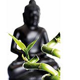 Entspannung, Buddhismus, Meditation