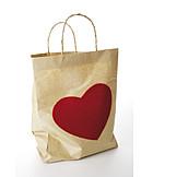 Valentine, Shopping bag, Gift bag