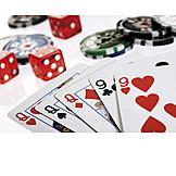 Poker, Gambling, Hand, Cards, Full House