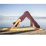 Yoga, Adho Mukha Svanasana, Herabschauender Hund