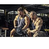 Weightlifting, Weightlifting, Cheering, Workout, Bodybuilder