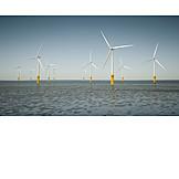 Windenergie, Alternative Energie, Offshore-windpark