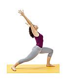 Strecken, Gymnastik, Yogaübung