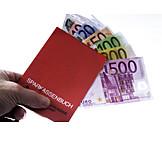 Euro Banknote, Take Off, Savings