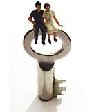 Key, Real Estate, Loyalty, Couple