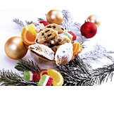 Christmas, Sweets, Stollen Sweets