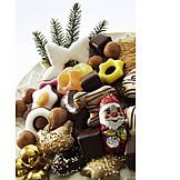 Süßigkeiten, Weihnachtsteller
