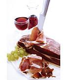 Red Wine, Parma Ham, Picnic, Ham Slice