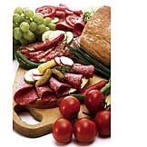 Salami Bread, Sausage Bread, Picnic