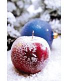 Christmas, Winter apple