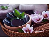 Wellness, Gesundheitspflege, Warmsteinmassage