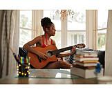 Music, Playing Guitar