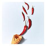 Ice, Chili, Tasting