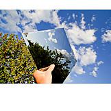 Natur, Spiegelbild, Spiegeln