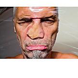 Man, Distorted, Mental health