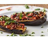 Turkish cuisine, Stuffed eggplant, Karniyarik