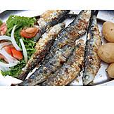 Sardines, Portugese cuisine