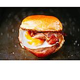 Frühstück, Sandwich, Amerikanische Küche