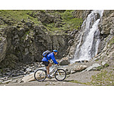 Aktiver Senior, Mountainbiken, Gran Paradiso