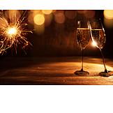 New Years Eve, Toast, Cheers