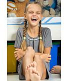 Girl, Laughing