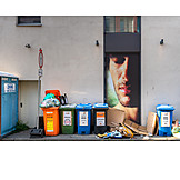 Waste, Dustbin, Recycling