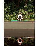 Natur, Yoga, Meditieren