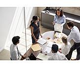 Zusammenarbeit, Besprechung, Mitarbeiter