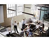 Meeting, Besprechungsraum, Präsentation, Brainstorming