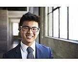 Mann, Geschäftsmann, Asiate