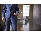 Businessman, Smart Phone