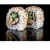 Sushi, Japanische Küche, Ura-maki